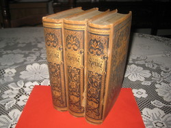 Heinrich HEINE válogatott művei  I_II_III. kötet  1834 .ből