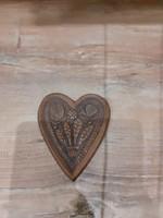 #148, fali dekoráció szív