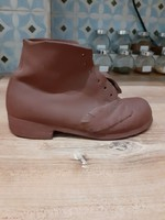 #129, kerámia cipő, 20cm szeles