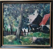 Paál Albert (1895-1968) Festmény
