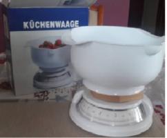 Új Küchenwaage konyhai mérleg