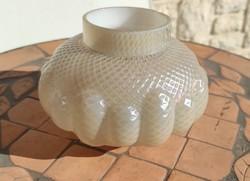 Antik öblös irrizáló vàza ,Loetz , Kralik jellegű Cseh, Osztrák vagy Muànói Szecessziós üveg