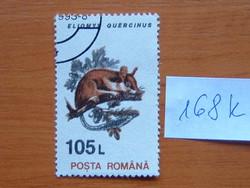 ROMÁNIA 105 L 1993 Állatok Kerti pele 168K