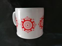 Zsolnay ritka, retró kormánykerekes csésze 2.