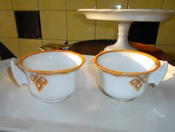 Elbogen porcelain cups are beautiful, gentle pieces