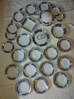 Marie Antoinette mintájú Zsolnay porcelán étkészlet