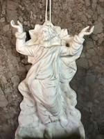 Biszkvit porcelán szenteltvíztartó