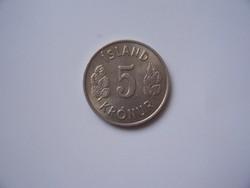 Izland 5 Kronur 1969