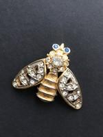 Méhecske bogár bross kitűző