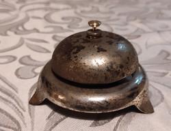 Valódi antik Hotel csengő Szàlkodai asztali csengő,hívó csengő,csekédhívó ,ràütős csengő filmekből
