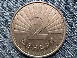 Észak-Macedónia 2 dénár 2001 (id43472)