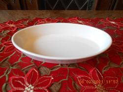 Zsolnay porcelán ovális tányér