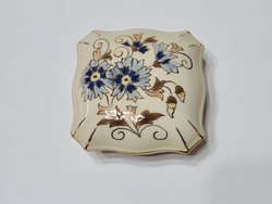 Zsolnay Búzavirágos Bonbonier 7,5 x 7,5