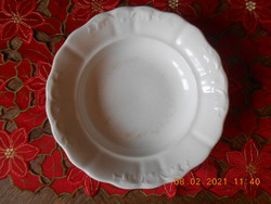Zsolnay inda mintás mély tányér