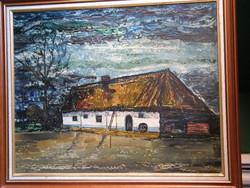 Fata Jenő : Zalai tanya 1977