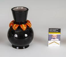 H. Rahmer Mária fekete váza