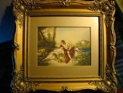 Ismeretlen 19. sz. - i festő: Pásztor jelenet (1850 körül)