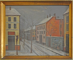 Koch Vilmos festménye
