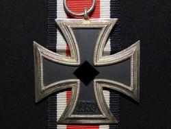 Német 2. VH Vaskereszt Iron Cross / Eisernes Kreuz EK 2 L/54 Schauerte & Hohfeld
