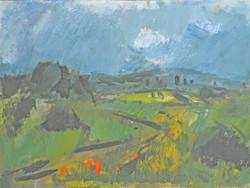 Ifj. Iván Szilárd festménye