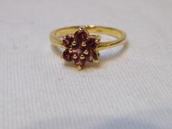 KK880 Elegáns aranyozott gyűrű