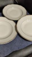 Aranycsikos jelzett ritkább tányér 3 darab mely