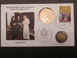 Ronal Reagan látogatása a Vatikánban 1987