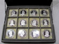 Királyi koronák, 5 koronás érme gyűjtemény