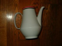 Colditz 28 német ari porcelán kávé tea kiöntő kanna korsó használt teteje sajnos nincs