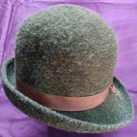 Retro női kalap - zöld