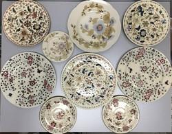 Antik zsolnay tányér gyűjtemény