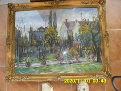 OROSZ GELLÉRT  gyönyörű  olaj-vászon festménye