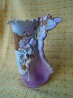 Kovács Éva rendkíül ritka art nyú váza hibátlan darab 20x 14 cm hibátlan darab