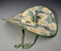 Retro női  MIRACLE   SUN HAT angol napkalap, vászonkalap, 58x54 cm