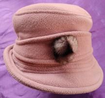 Retro női kalap - átvétel Zuglóban