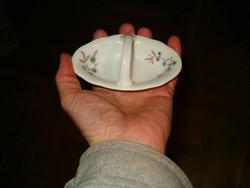 Porcelán só bors fűszer tartó használt  KIÁRUSÍTÁS 1 Forintról