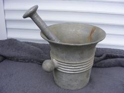 Mozsár hadimozsár aluminium cca1914-18