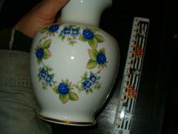 Hollóháza nagy virág váza kaspó nagyon szép porcelán hollóházi kiárusítás