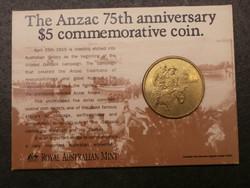 Ausztrália 5 Dollár