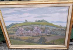 Csáki-Maronyák József – Domboldal című festménye – 66.