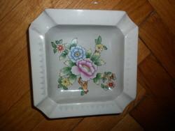 Régi kézzel festett ludwigsburg porcelán hamutál