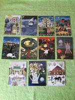 Postatiszta üdvözlő képeslapok
