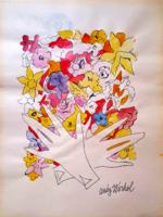 Warhol: Virágos kéz