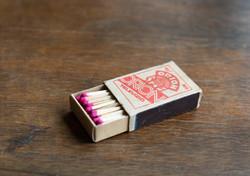 Egy doboz gyufa - Orion reklámtárgy, gyűjtői ritkaság