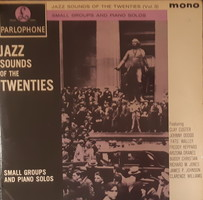 JAZZ SOUNDS OF THE TWENTIES  -  JAZZ LP  BAKELIT LEMEZ   VINYL