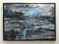 Contemporary 50x70cm painting signed, direct from the artist!