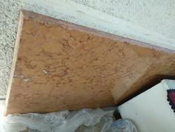 Akció rózsaszínes kőlap bútor vagy asztallap gránit vagy márvány lap 148x79x2 cm