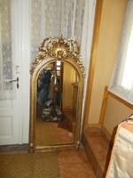 Gyönyörű Rokokó álló tükör