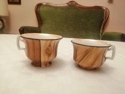 FAUX BOIS teáscsészék