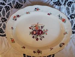 Eladó antik angol porcelán virág mintás kínáló tál!